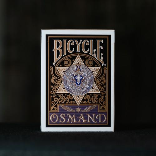 OSMANDトランプ 黒 GOLD EDITION