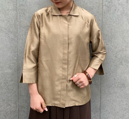 (PAL) glossy l/s shirt