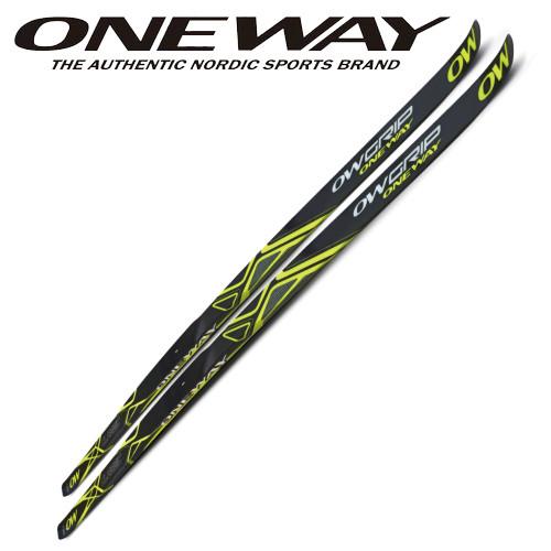 180cm~204cm ONE WAY クロスカントリースキー OWグリップスキー スキンスキー 歩くスキー ow40103