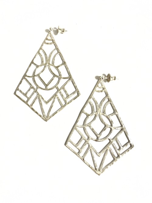 EG008S 【G-8 silver earrings】