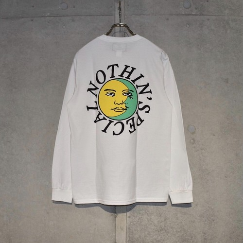 NOTHIN'SPECIAL LAURENCE W-ONG SLEEVE / WHITE