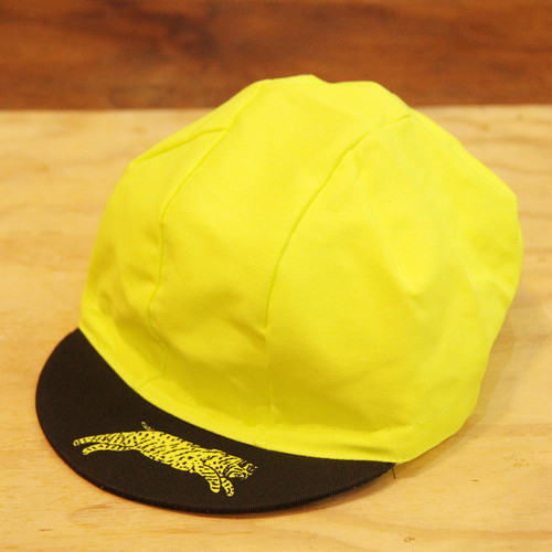 TEAM DREAM BICYCLING TEAM / Day Glo yellow CAP