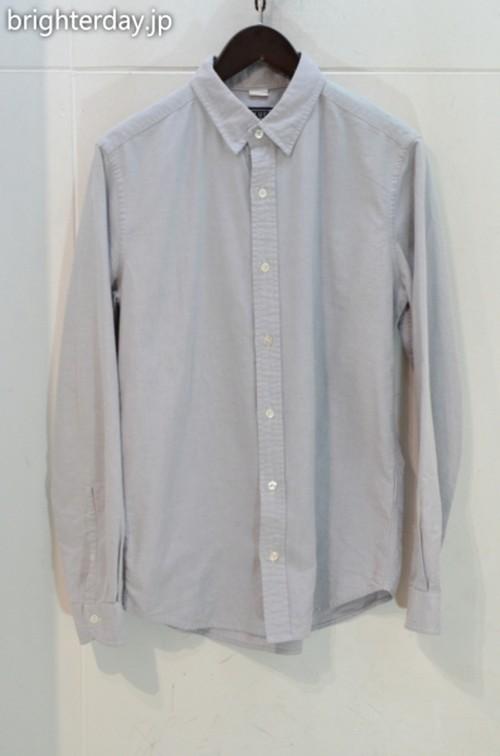 BLUE WORK オックスフォードボタンダウンシャツ