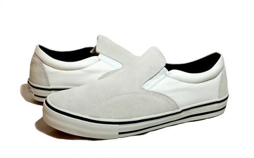 POSSESSED SHOE SKATE GANG SLIP ON WHITE