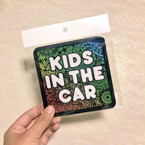 オリジナルステッカー(KIDS IN THE CAR)