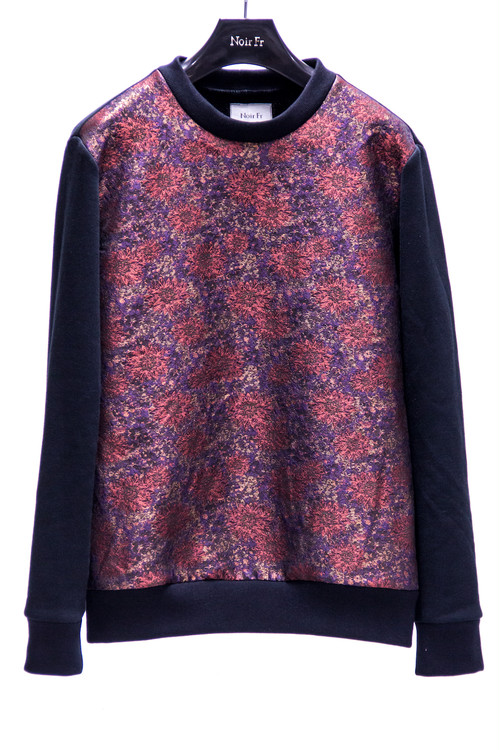 18AW Flower Camouflage Sweat Shirt Red