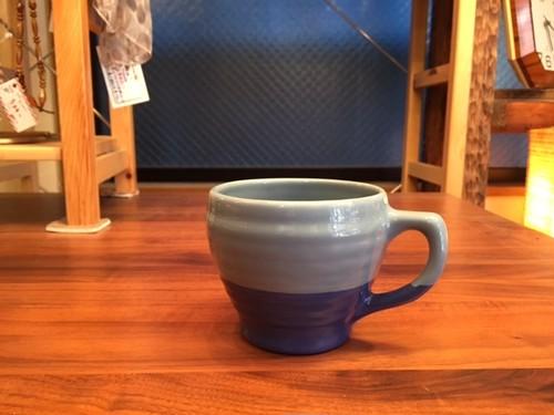 BAUER POTTERY「マグカップ」(フレンチブルー)