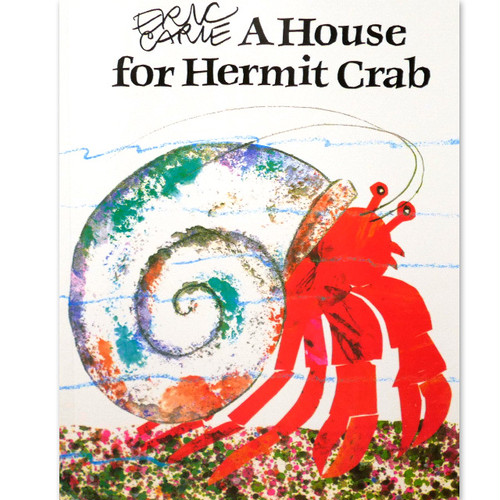 「A House for Hermit Crab」エリック・カール