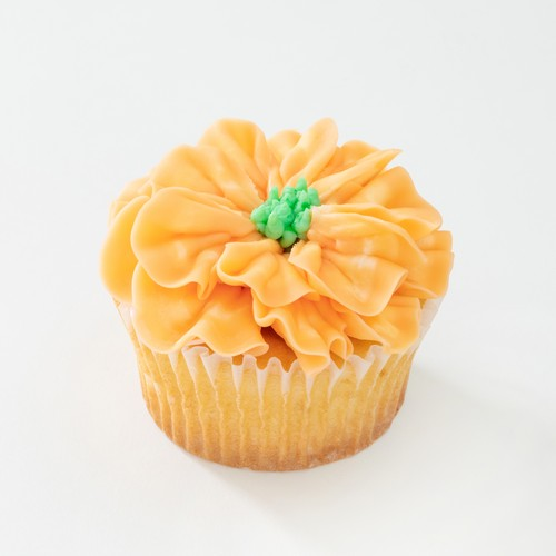 ORANGE FOWER CAKE 6P