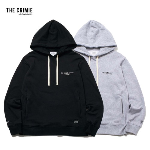 CRIMIE / CR1-02L5-CL57 / SWEAT HOODIE