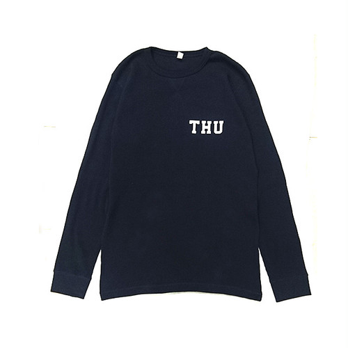 THURSDAY - THU THERMAL L/S TEE (Navy)