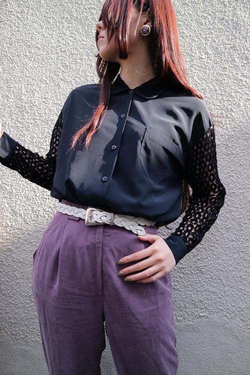 Black AMI blouse