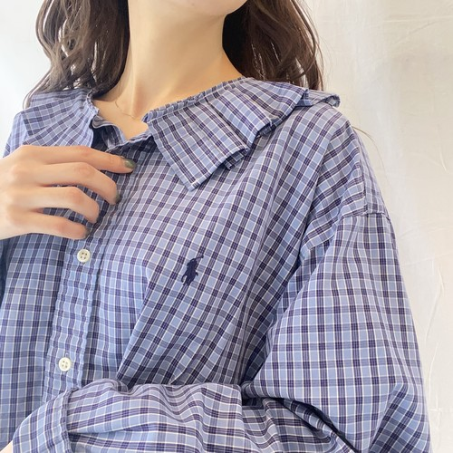 Ralph Laurenリメイクチェックシャツ (imy)