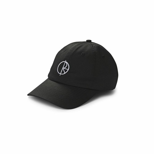 POLAR SKATE CO / STROKE LOGO CAP -BLACK-