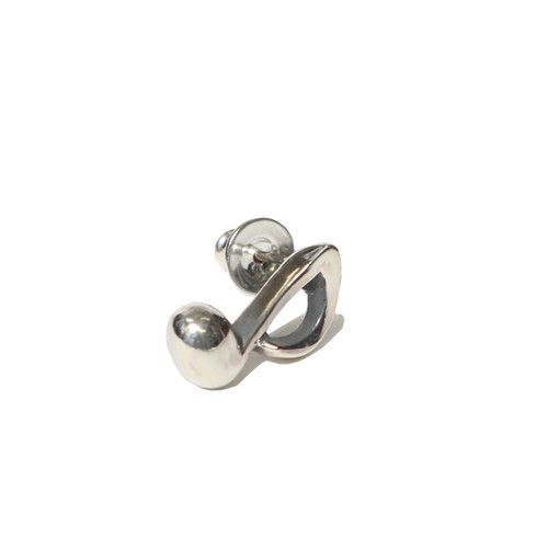 ONPU PIERCE - MUSIC NOTE (SILVER) / RUDE GALLERY