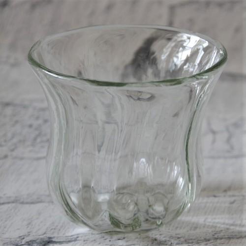 琉球ガラス【glass32】うずグラス