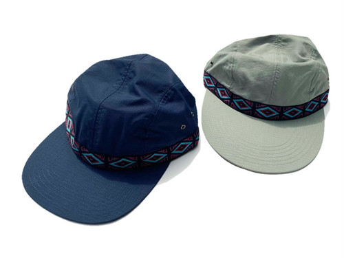 ONLY NY|Rip-Stop 4-Panel Long Bill Hat