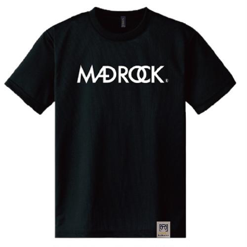 マッドロックロゴ Tシャツ/ドライタイプ/ブラック