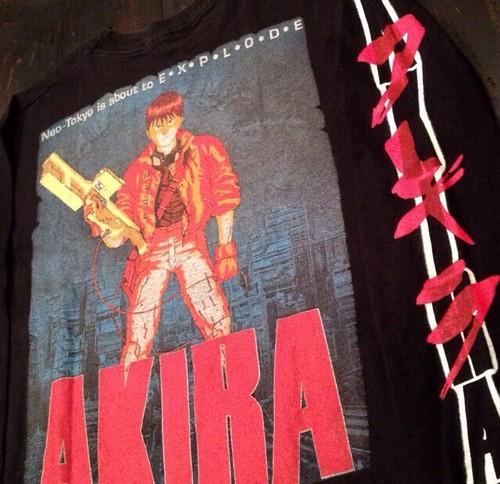 Vintage 80s AKIRA (アキラ) L/S Tシャツ