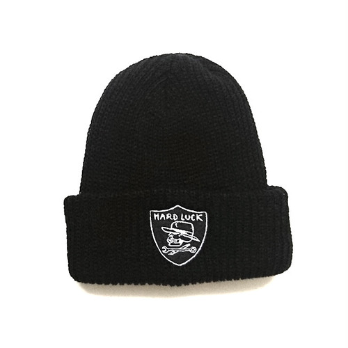 HARD LUCK - HARD SIX BEANIE (Black)
