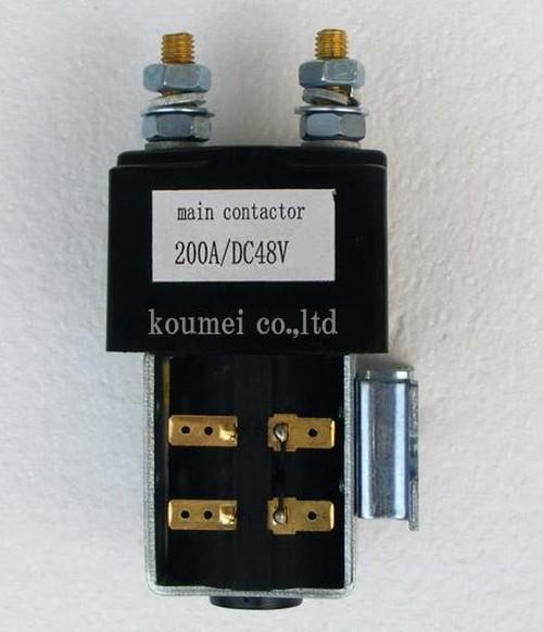 コンタクターメイン48V200A