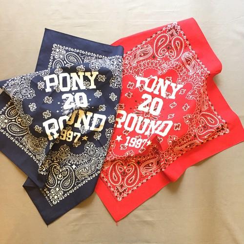 pony go round bandana