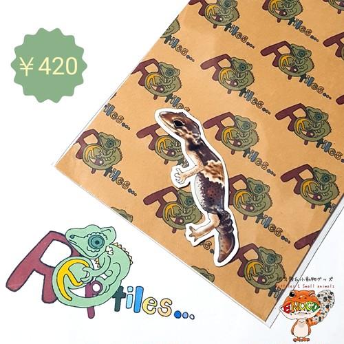 [ニシアフ(ベビー)]爬虫類ステッカー