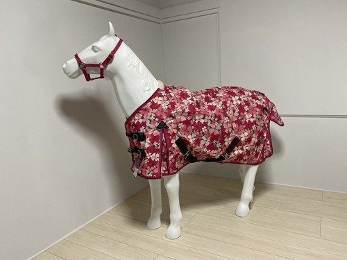 Harry's Horse ミニチュアホースサイズ~ レイン馬着 花柄