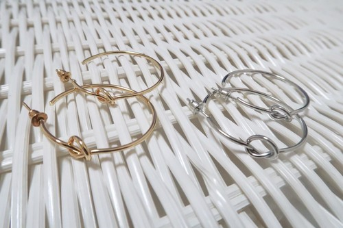 knot pierce【gold / silver】