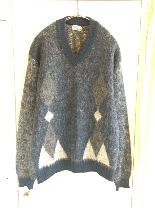old mohair sweater