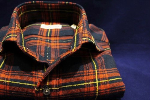 CADETTO ORIGINALS SHIRTS Flannel Quilted Check