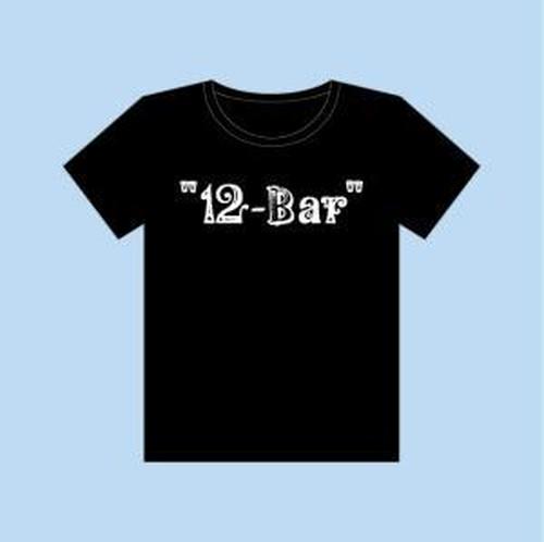 """12-Bar"" ロゴTシャツ"
