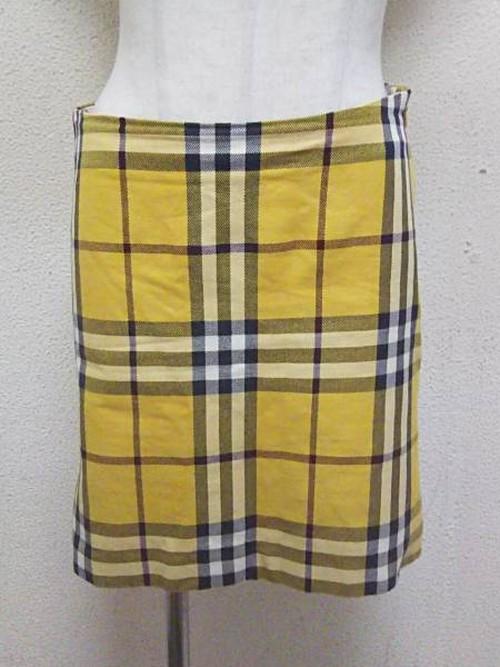 バーバリーのスカート