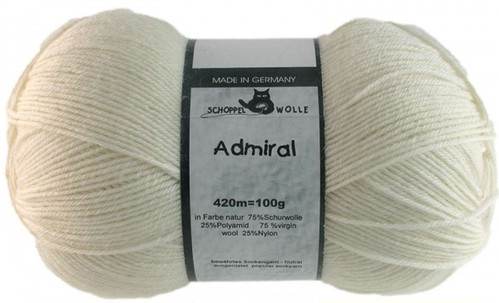 col.980 Admiral --Natural / Off White