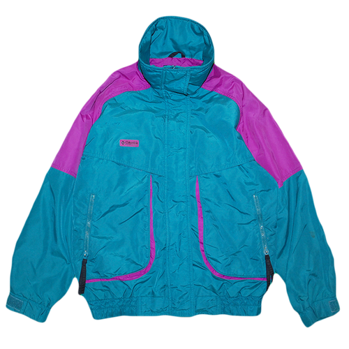 """90s Columbia Powder Keg"" Vintage Nylon Jacket Used"