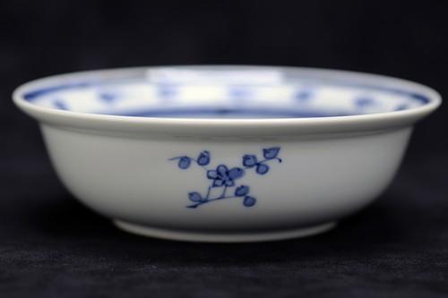 雲流梅小紋 スープ碗 作・井手國博 与志郎窯(有田焼)