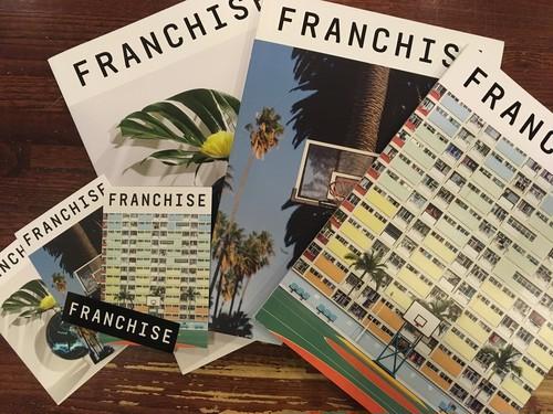 【洋雑誌】FRANCHISE MAGAZINE Issue1-Issue3