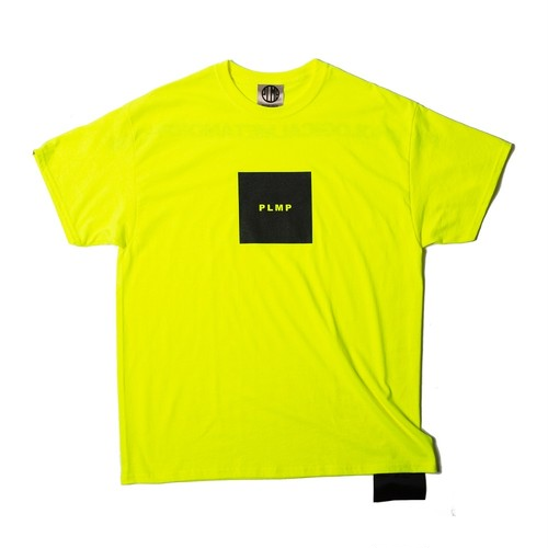 PSYCHOLOGICAL METAMORPHOSIS / PLMP BOX TEE / YELLOW / PL04-0104