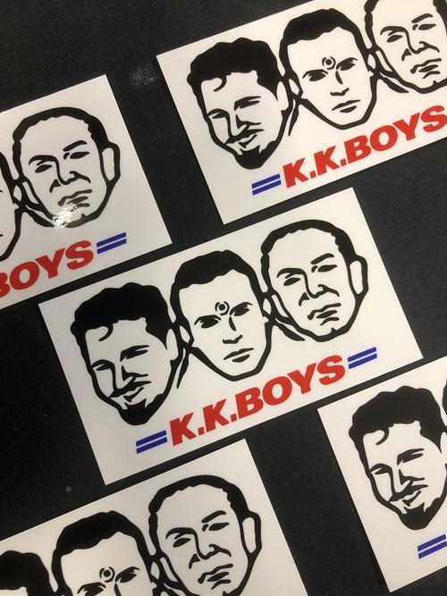 K.K.BOYS ステッカー