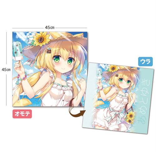 あめとゆき クッションカバー『チョコミントな夏』