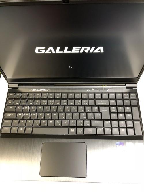 【3泊4日レンタル】VR用・ゲーミング用ノートパソコン GALLERIA GCF1060GF-E