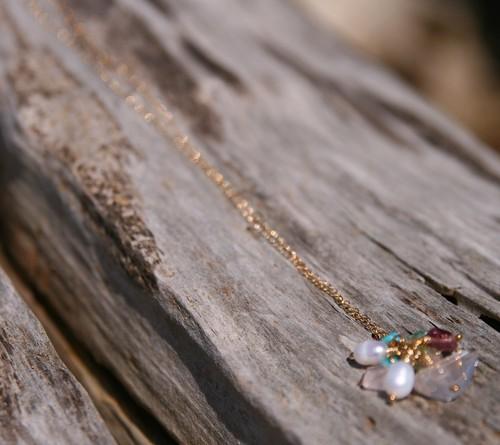 宝石箱のネックレス