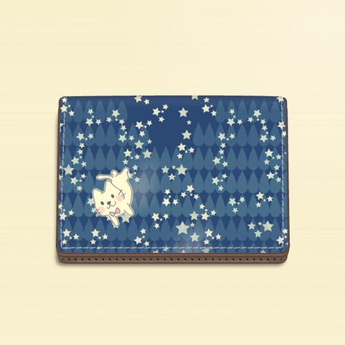 カードケース*月光雨のねこ*5KCca01