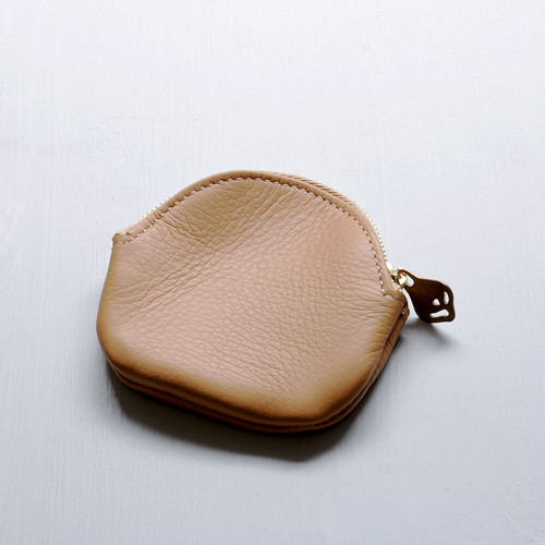 egg coin case (beige)