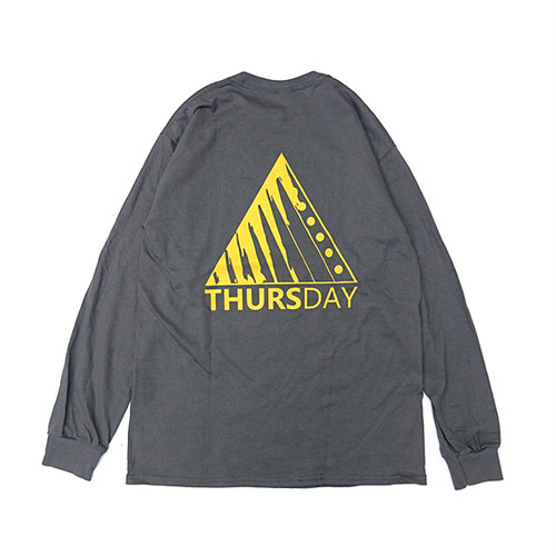 THURSDAY - TITANIUM L/S TEE (Charcoal)
