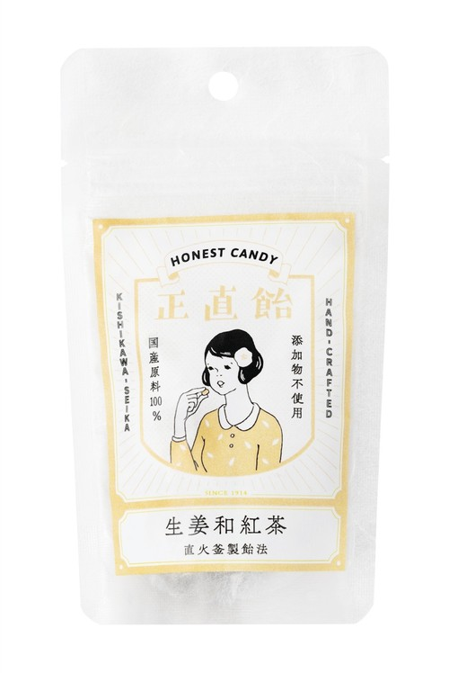 正直飴 生姜和紅茶