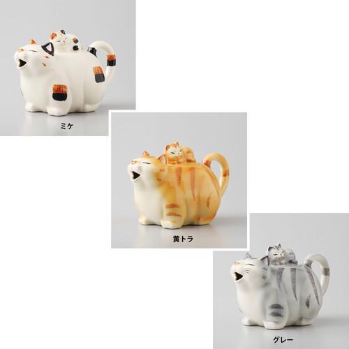 猫ポット(瀬戸焼ビクトリーカタログ)