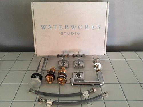 ホテルライクな水栓金具 / 蛇口 一式セット ② (WATER WORKS STUDIO)
