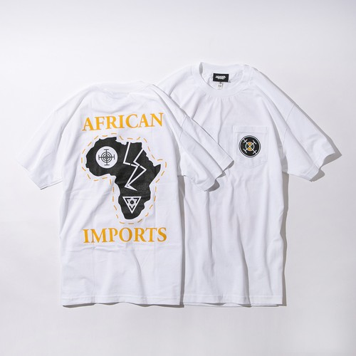AFRICAN IMPORTS  POCKET TEE