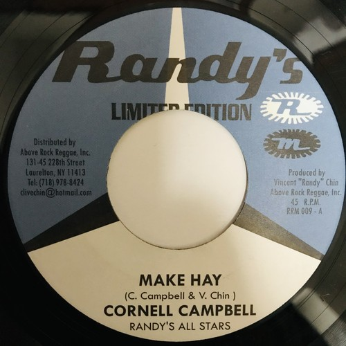 Cornell Campbell - Make Hay 【7-10915】